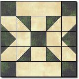 Oregon's state quilt block.