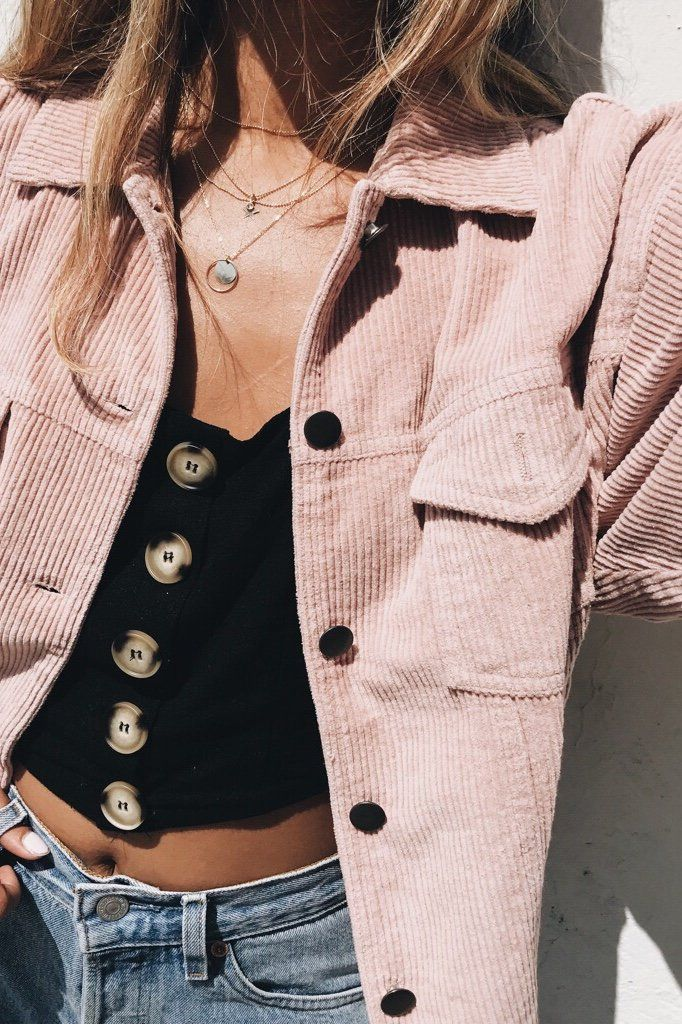 Pink Lexie Corduroy Jacket 17