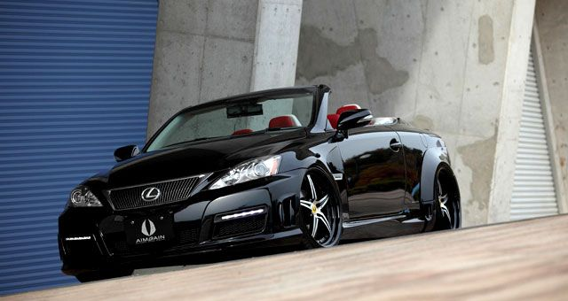 Aimgain Body Kit for the Lexus IS Convertible