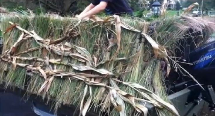Try this DIY duck boat blind project to prepare for the coming duck hunting season.