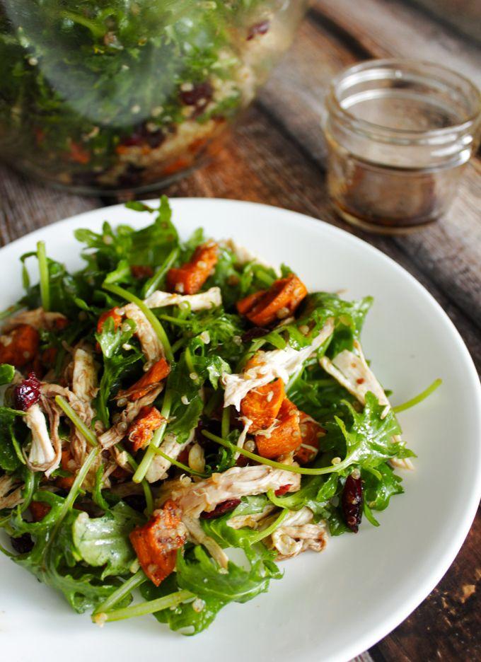 さつまいもとチキンとキヌアのサラダのレシピ | 海外レシピ専門サイト ...