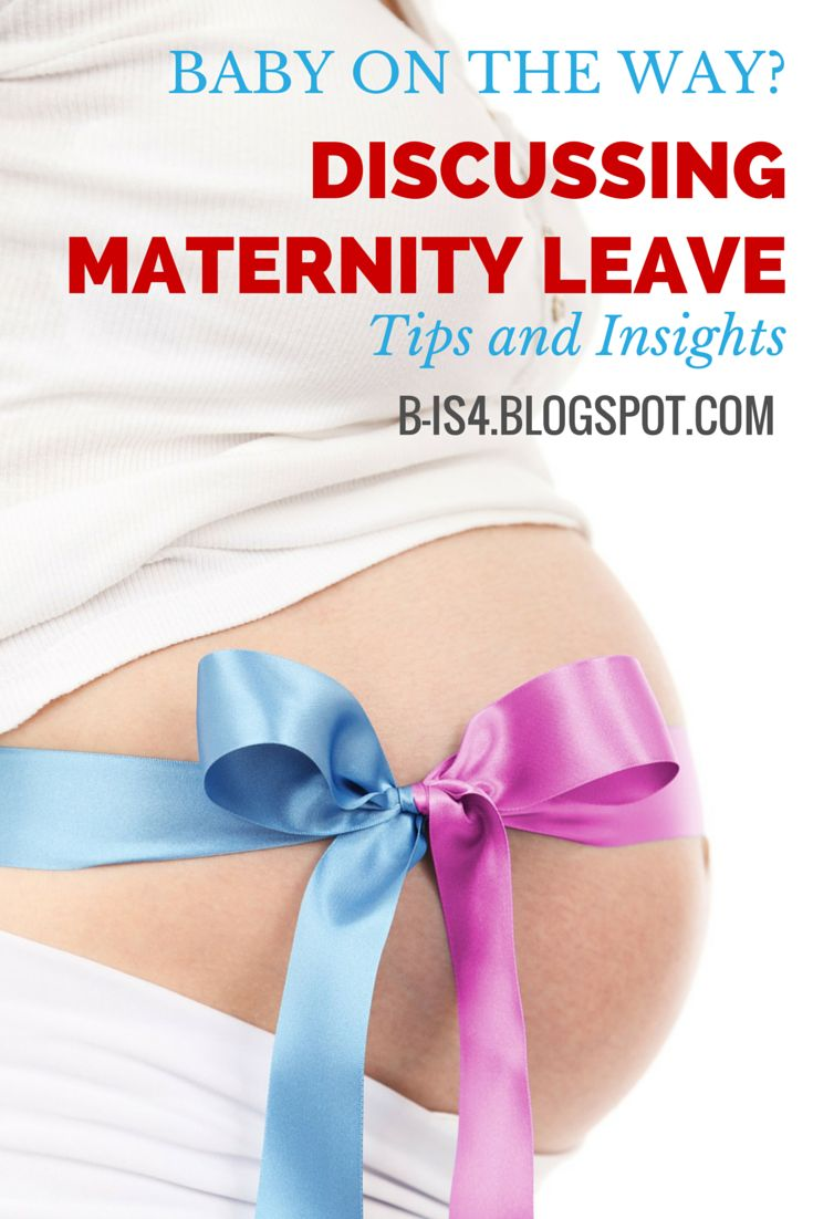 If So, Maternity Leave Is Something