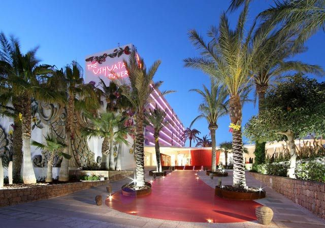 Cosmo checks in: Ushuaia Tower Ibiza #Travel #TravelTuesday #Ibiza