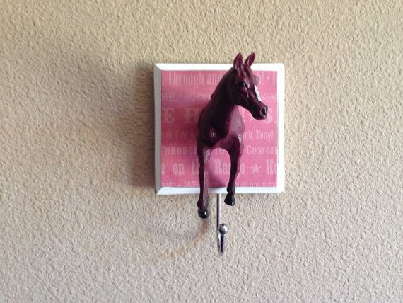 Horse Western Theme Wall Hook & Room Decorations