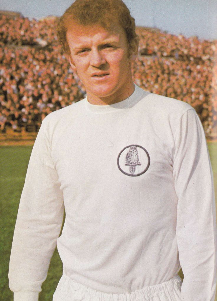 Circa 1970. Footballer of the year Billy Bremner