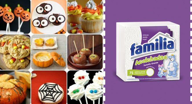Buenas ideas para compartir este Halloween en familia.