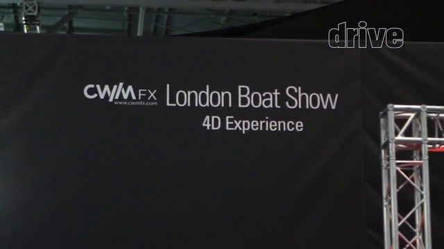 Surround Sound 4D Experience produced for drive productions 2015 London Boat Show.