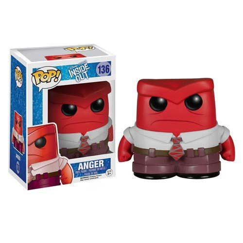 Inside Out Anger Disney-Pixar Pop! Vinyl Figure - Funko - Inside Out - Pop! Vinyl Figures at Entertainment Earth