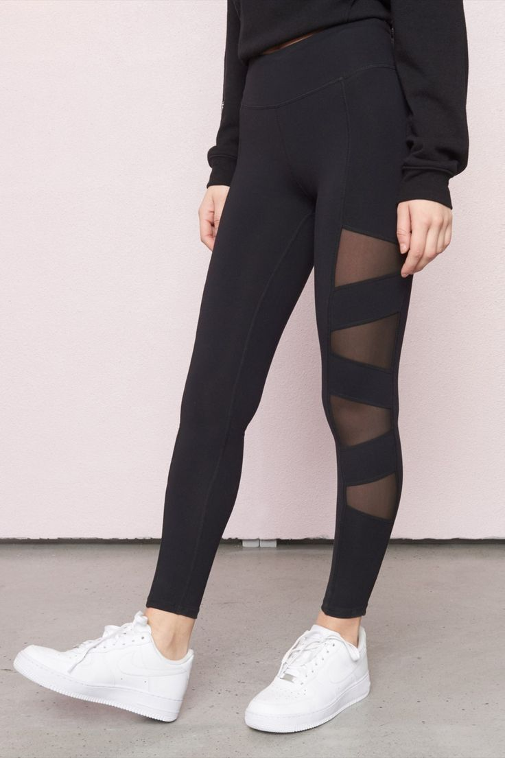 A cut above the rest - Side Mesh Legging