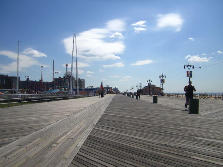 Coney Island - sun - summer - New York