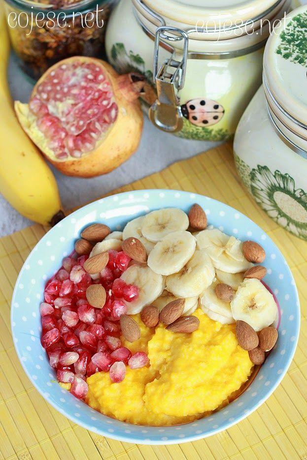Dyniowa jaglanka na śniadanie   Zdrowe Przepisy Pauliny Styś