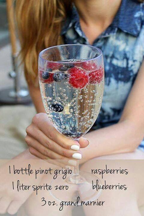 Great Summer Drink! easy and breezy  www.helenjon.com