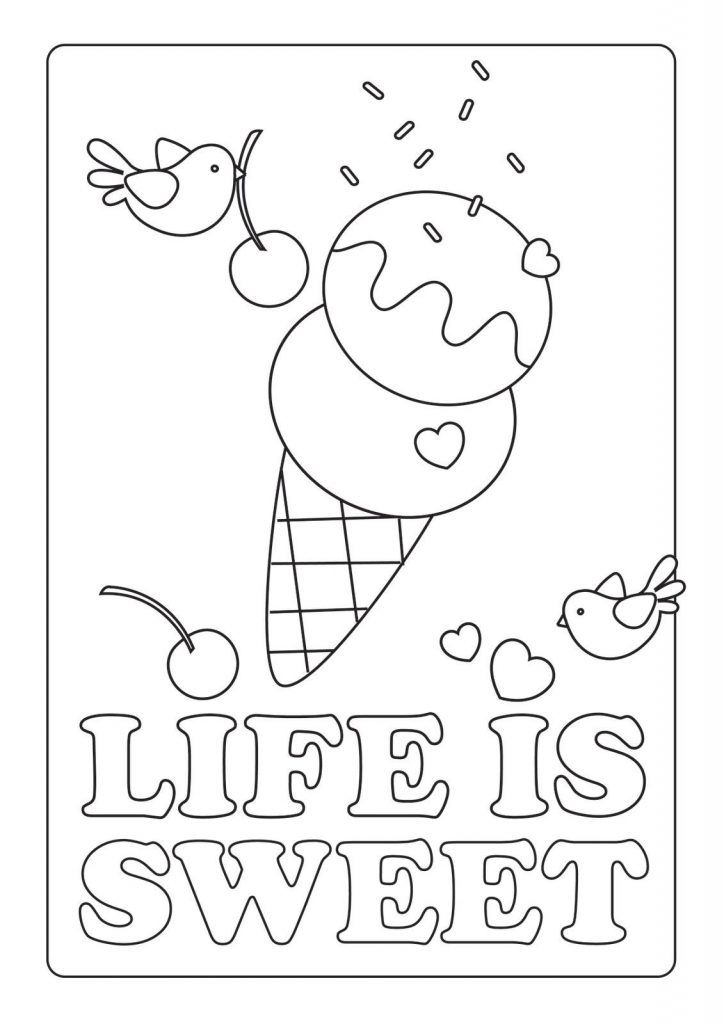 Summer Coloring Pages For Kids Print Them All For Free Summer Coloring Pages Ice Cream Coloring Pages Free Coloring Pages