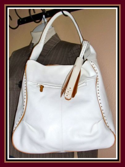 HOBO Bag-ORYany Large White & Hobo Doors Est u0026 Betsy Johnson Hobo Bag