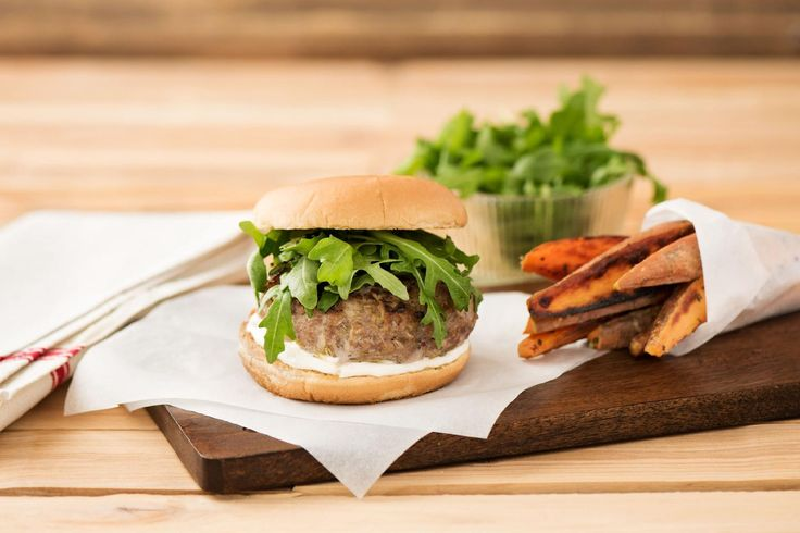 Pork & Apple Burgers