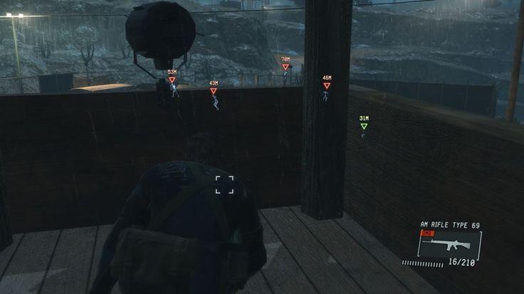 敵の位置を表示するUI