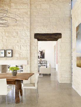 Wimberely Retreat - modern - dining room - austin - 3 Fold Design Studio