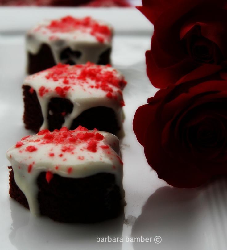 El Diablo Red Velvet Saigon Cinnamon Brownies