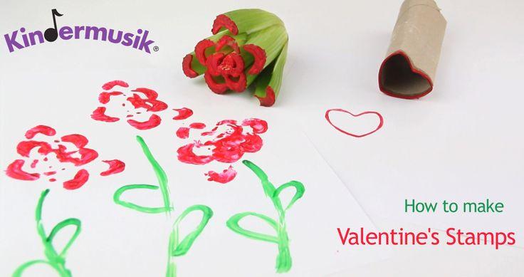 Easy Kids' Activity: Valentine's Day Stamps | Kindermusik® International