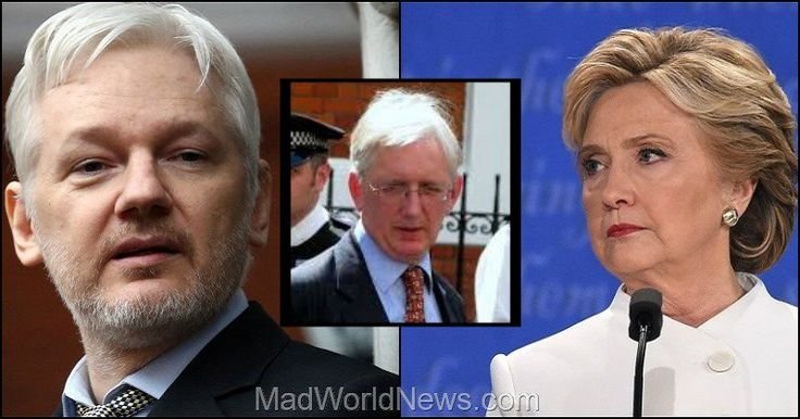At the final presidential debate on Wednesday night, Hillary Clinton spent a lot of time attempting to stir up anger by blaming the Russian government for email hacks and for trying to influence the election in favor of Donald Trump. However, one diplomat personally met with Julian Assange, and what he has just revealed completely destroys Hillary's lies about a Russia-Trump conspiracy.