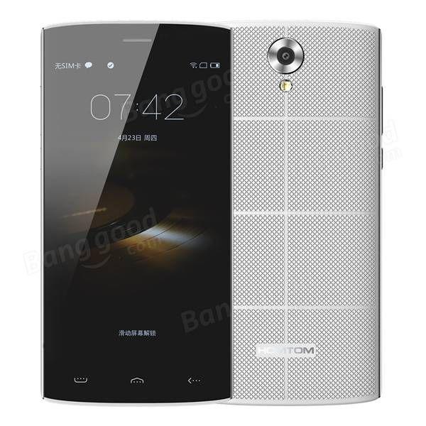 HOMTOM HT7 5.5 Inch 1GB RAM 8GB ROM MTK6580 Quad-core 3000mAh Battery Smartphone Sale-Banggood.com