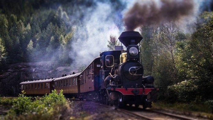 A Rolling Railway Museum in Norway