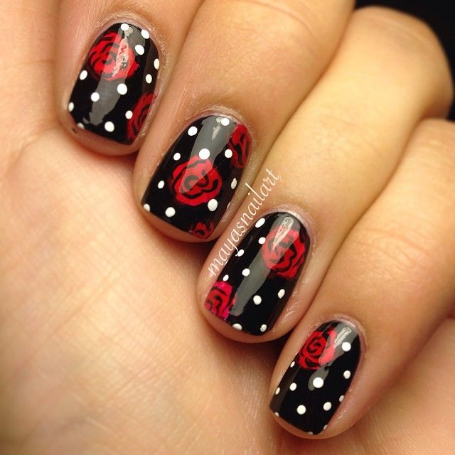 Instagram photo by mayasnailart #nail #nails #nailart