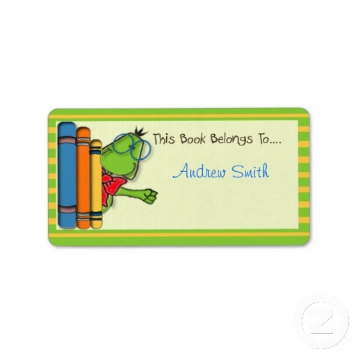 Book Labels  Book Worm Labels with text you can customise to suit your own needs. Why not collect the set they would look terrific on anyones books.