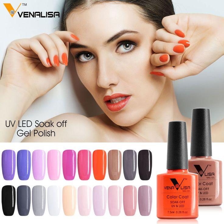 #61508 Venalisa Nueva Marca 100% Pulimento Del Gel Empapa del LED UV de Uñas de Gel UV en Uñas de Gel de Belleza y Salud en AliExpress.com   Alibaba Group