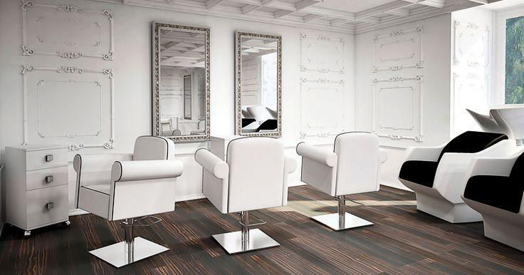 Salon collection Art Deco by Ayala salon furniture. Hairdresser salon idea classic style. #Salonideas