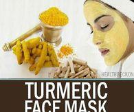 DIY Tumeric Face Mask Recipe