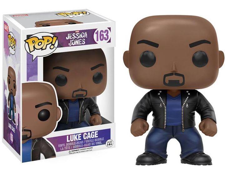 Pop! Marvel: Jessica Jones - Luke Cage -  Jessica Jones (TV Show) Figures
