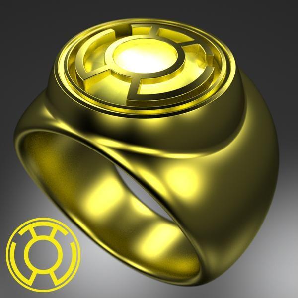 Yellow Lantern Corps - Power Ring.