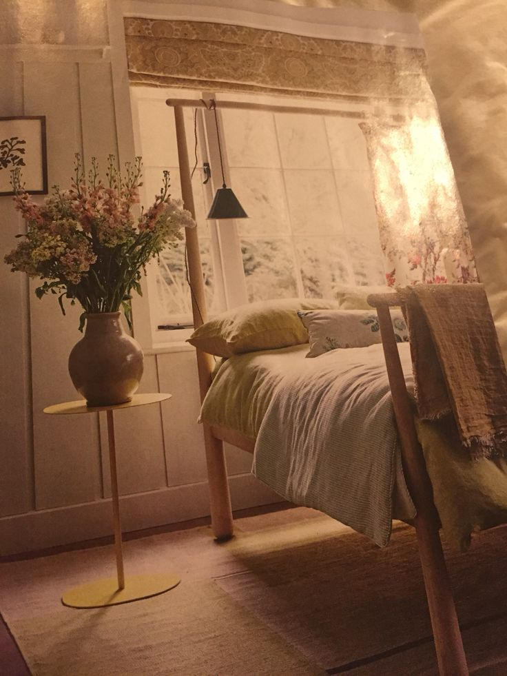 Lily side table SCP Gjora double bed ikea I like the blind ...