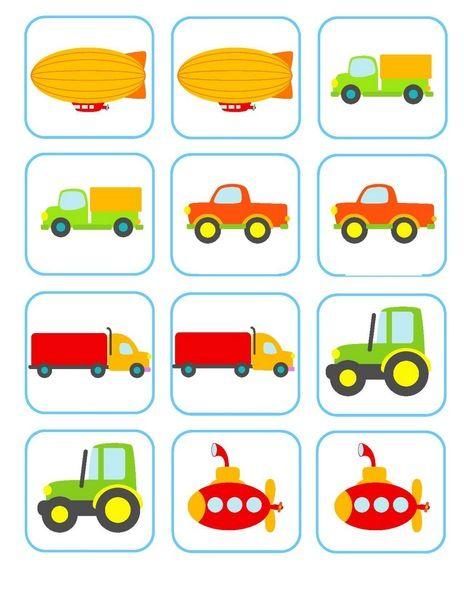 Bu sayfamızda okul öncesi taşıtlar temasında kullanılabilecek hafıza oyunu kartları bulunmaktadır.Her bir taşıttan iki adet kart yer almaktadır.Küçük yaş grupları için muhteşem zihinsel etkinlikler arasında hafıza kartı oyunlarını alabiliriz.Kartların yanında her sayfa için boş taslak sayfalar bulunmaktadır.Kesilip karışık olarak çocuklarımızın bulmalarını istedikten sonra boş olan sayfalara yapıştırma etkinliği de yapabiliriz.Taşıtlar eşleştirme çalışmaları çocuğunuzun gelişimi için çok…