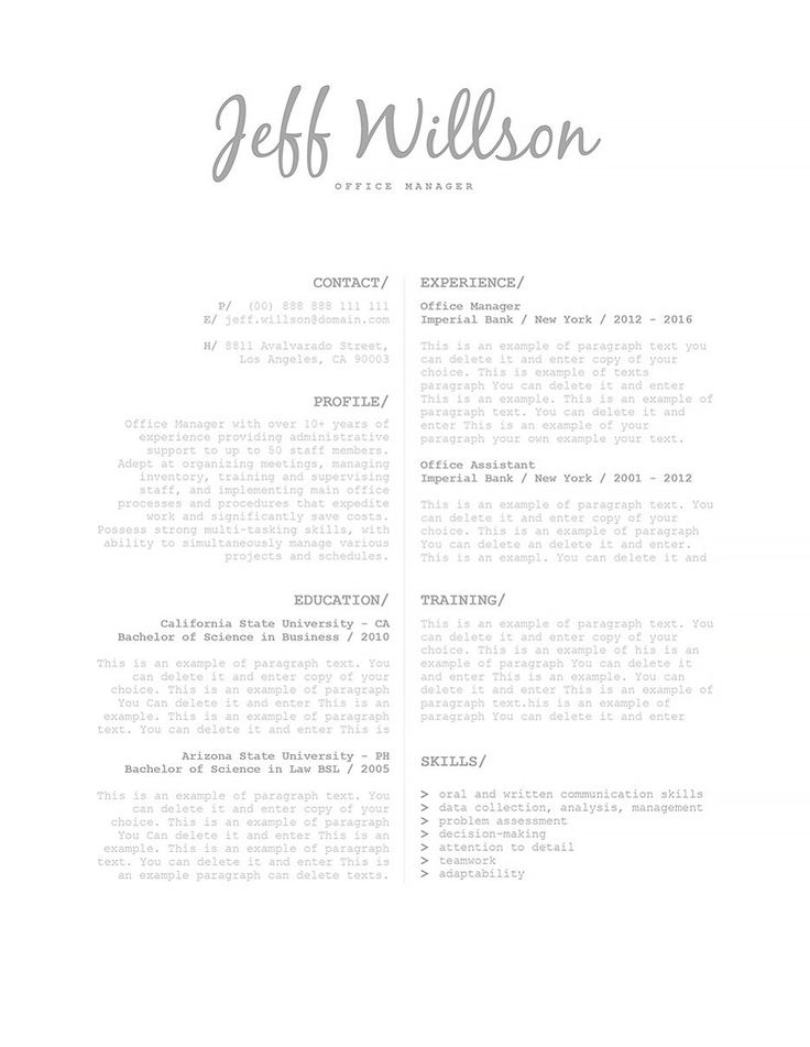 108 best MS Word Resume Templates images on Pinterest Resume - microsoft office resume template