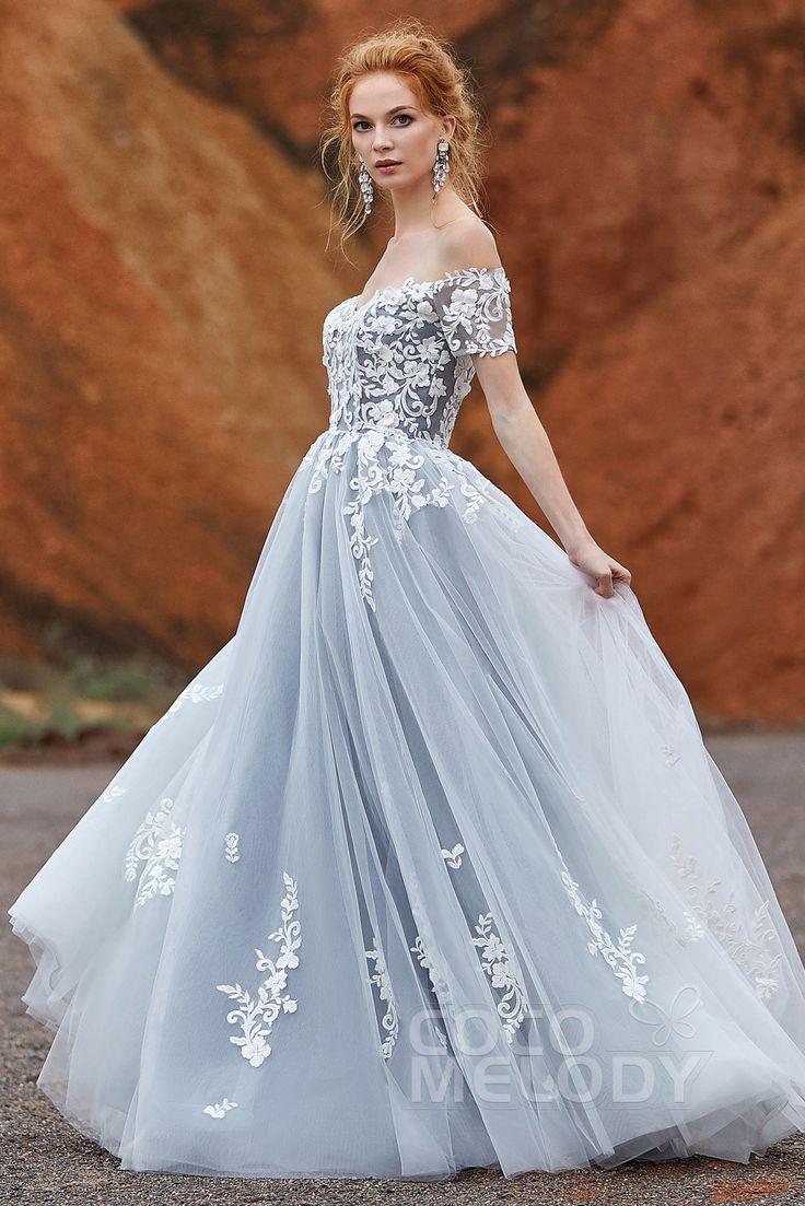 Fancy off the shoulder tulle dress