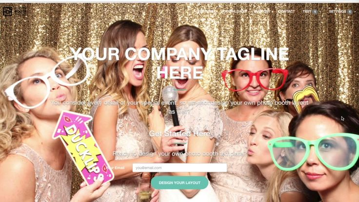 Photo Booth Studio - Vendor signup, Studio Customization and sending out...