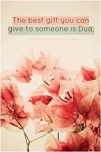 The best gift is Doa