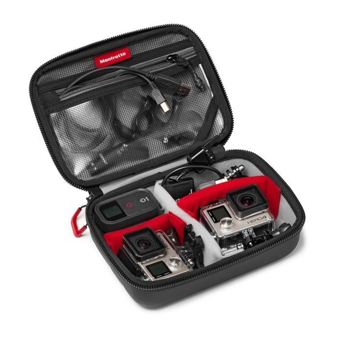 #Manfrotto Off road Stunt action cameras #hardcase