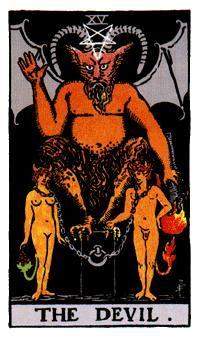 EL DIABLO, Significado de las cartas del Tarot