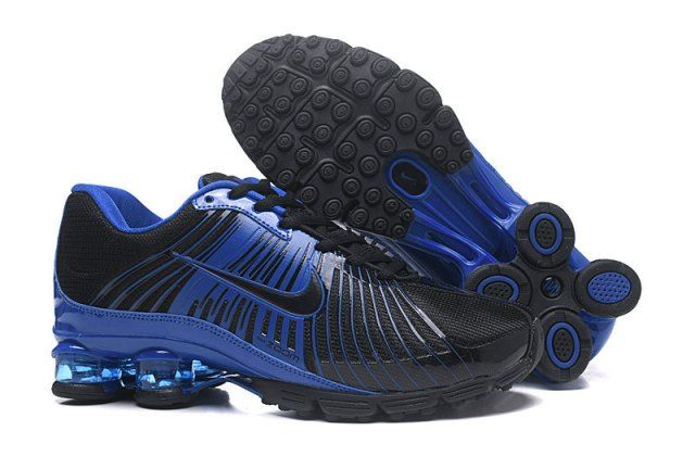1f221d3dd31 Advanced Nike Air Shox Fabrique 2018 Black Royal Blue Shox Nz Mens Running  Shoes Trainers