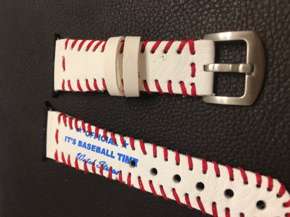 ♣§ 38mm Apple watch custom strap. Strap is made from the leather of a rea... #TE http://etsy.me/2ly4D3I
