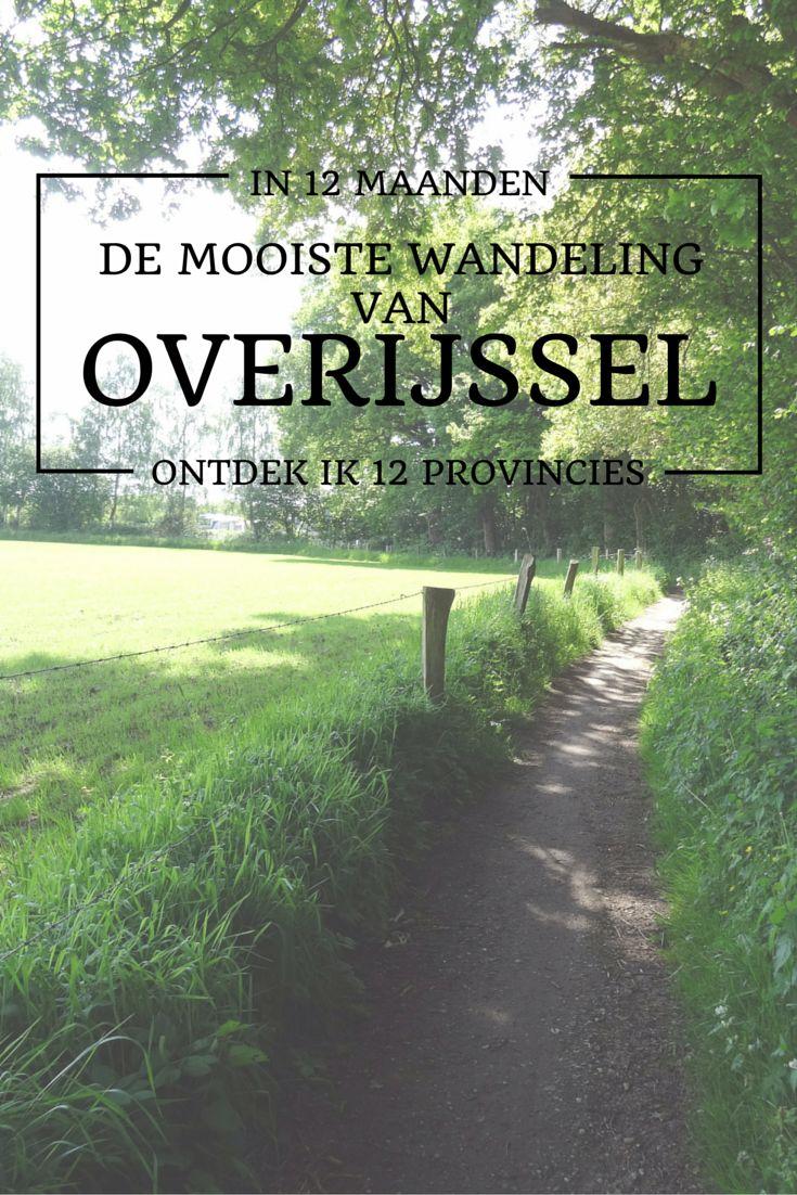 De mooiste wandeling van Overijssel is de rondwandeling De Lutte - Beuningen.