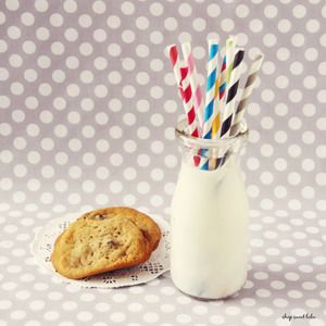 Perfect straws for baby/bridal showers