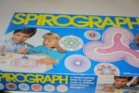 Remember the Spirograph!  Wouldn't the kids today just have a fit to entertain themselves with this?  But I loved it as a kid.