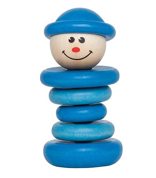 Little Friend Rattle Boy From Hape from The Wooden Toybox