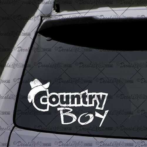 Best Country Decals Images On Pinterest Car Window Decals - Car window decal stickers for guys