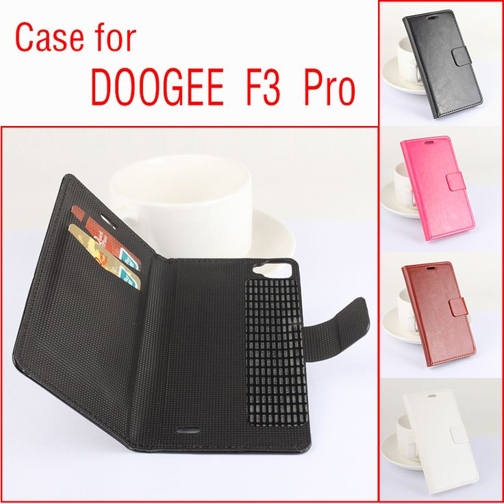>> Click to Buy << For DOOGEE F3 Pro Business Leather Skin Flip Wallet Case With Stand Holder Credit Card Slot For DOOGEE F3 Pro Tough Back Cover #Affiliate