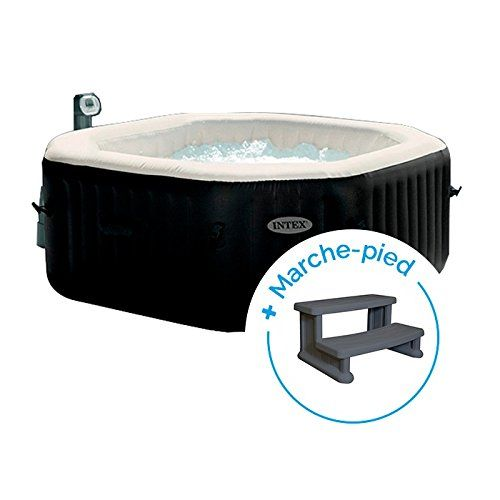 Intex Spa Gonflable Purespa Jets Et Bulles 6 Personnes Marche Pied Spa Gonflable Spa Gonflable Intex Gonflable